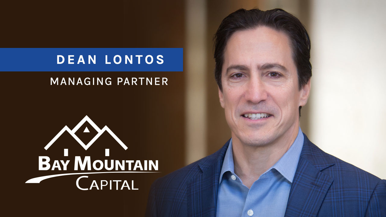 dean lontos managing parter of bay mountain capital video cover